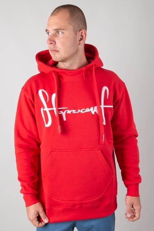 Bluza Stoprocent Hoodie Tag18 Red