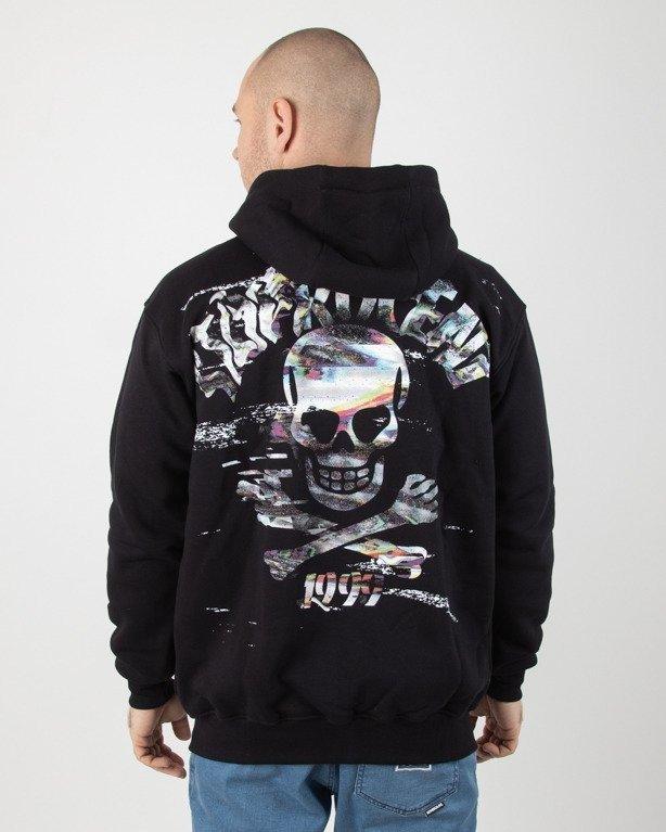 Bluza Stoprocent Hoodie Zip Vhs Black