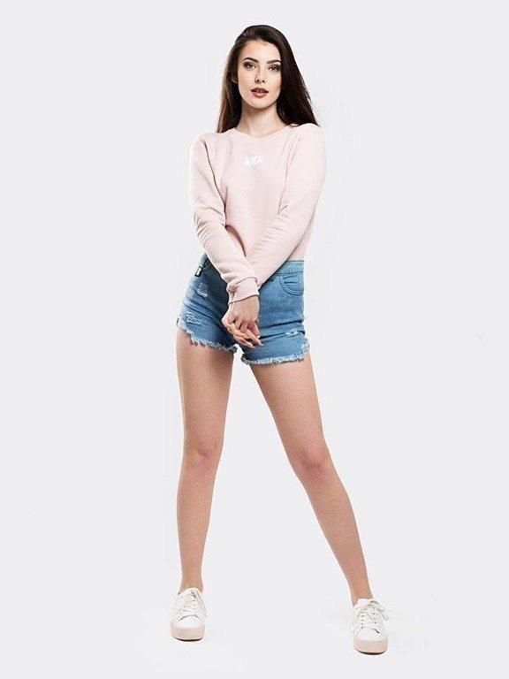 Bluza Stoprocent Woman 100 Pastel Pink