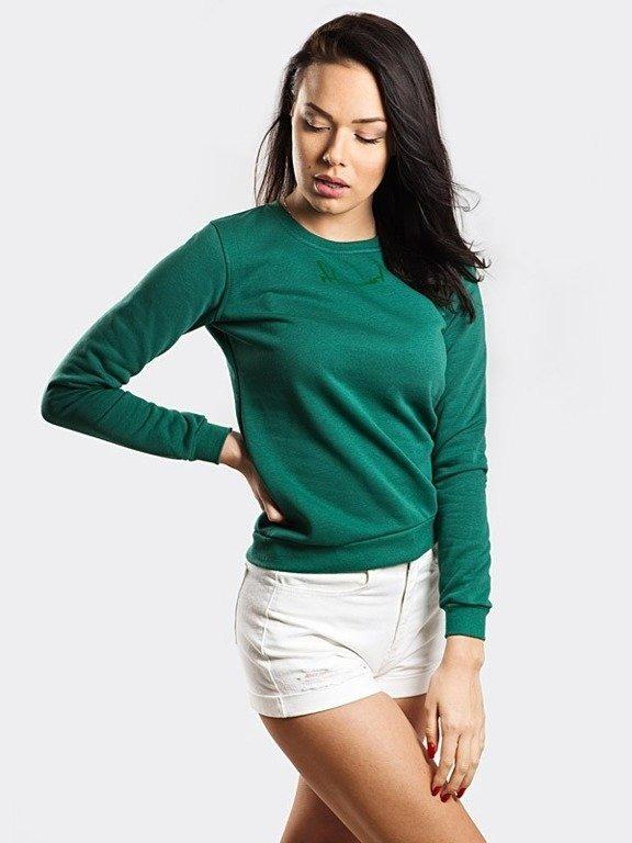 Bluza Stoprocent Woman Cuttag Green