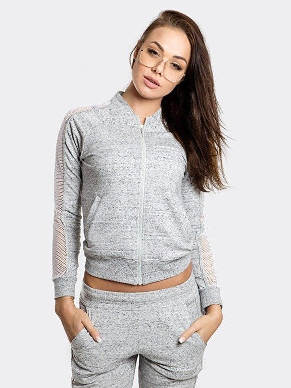 Bluza Stoprocent Zip Woman Mesh Melange