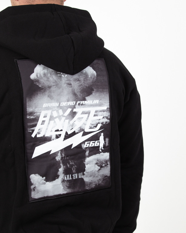 Bluza Zip Brain Dead Familia Hiroshima Black
