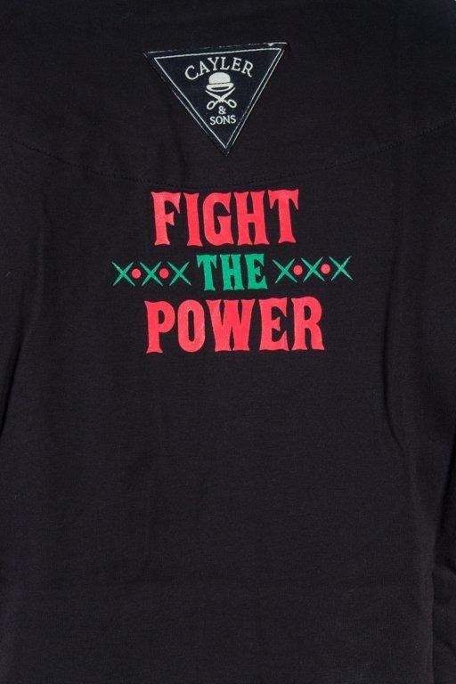 Cayler&Sons Koszulka T-Shirt Fight The Power Roll Up Black