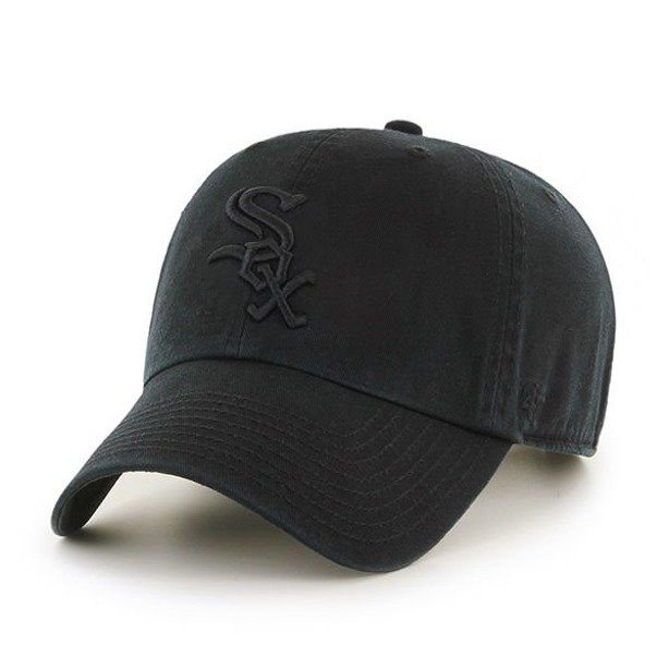 Czapka 47 Brand Chicago White Sox Clean Up Black-Black