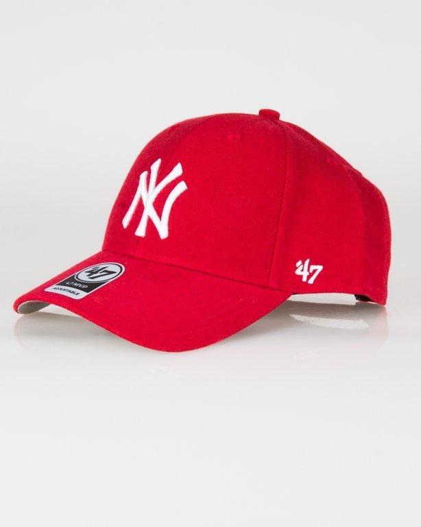 Czapka 47 Brand Mvp Ny Yankees Red