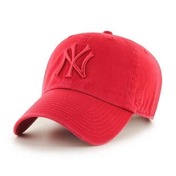 Czapka 47 Brand New York Yankees Clean Up Red-Red