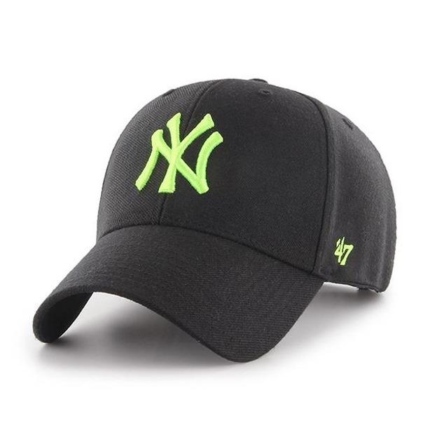 Czapka 47 Brand Ny Yankees Black-Neon