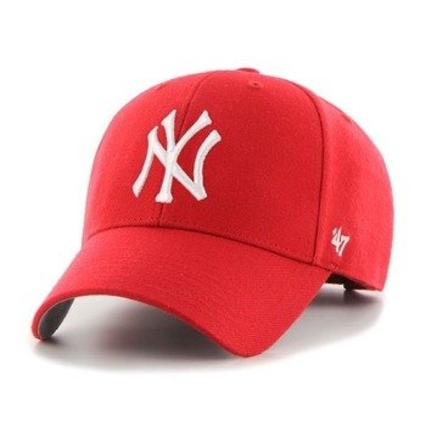 Czapka 47 Brand Snapback New York Yankees Red