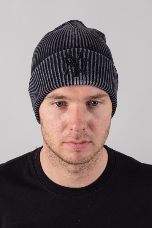 Czapka 47 Brand Zimowa Cuff Knit New York Yankees Graphite