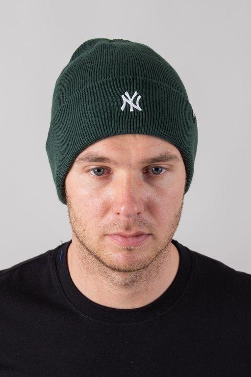 Czapka 47 Brand Zimowa Cuff Knit New York Yankees Green-White