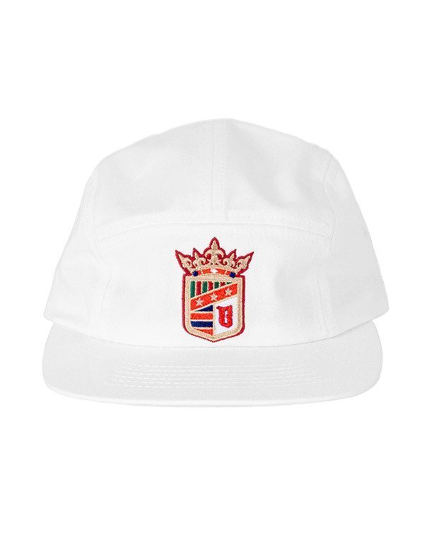 Czapka Bor 5Panel Herb White