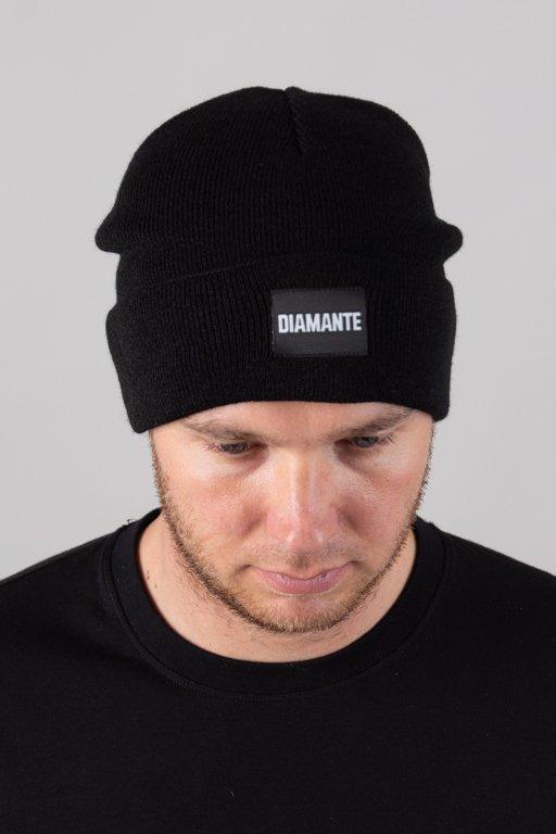 Czapka Diamante Wear Zimowa Diamante Black