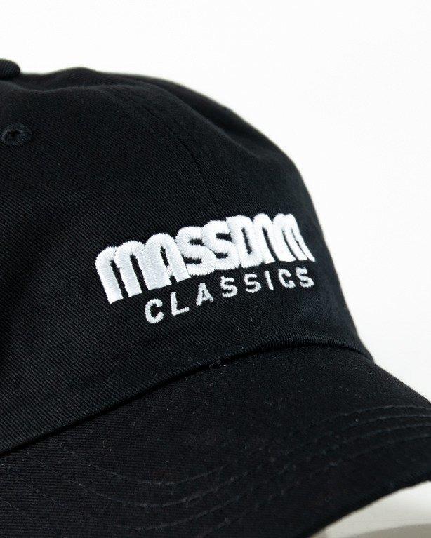 Czapka Mass Z Daszkiem Classics Black