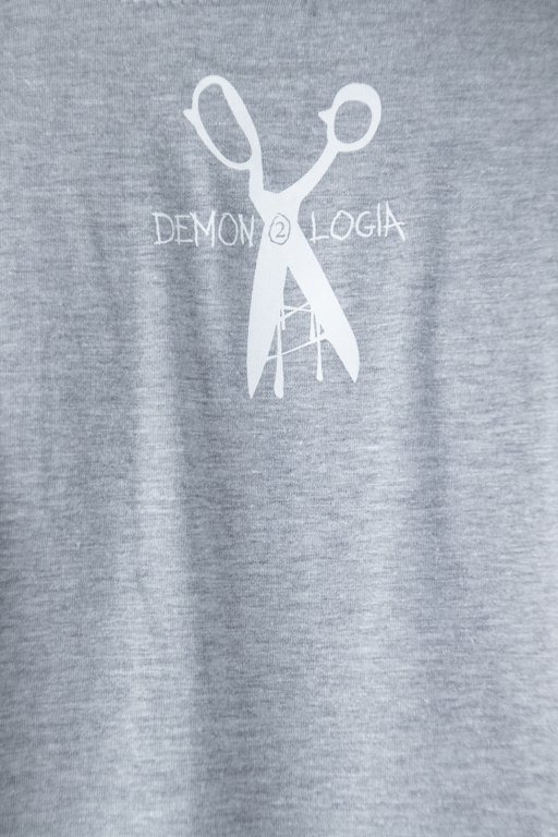 DEMONOLOGIA T-SHIRT JARAJ SIĘ GREY