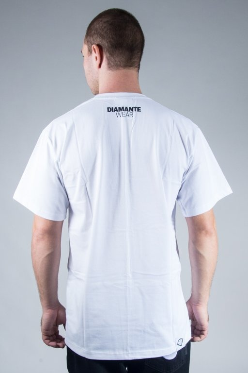 DIAMANTE WEAR T-SHIRT I PREFER WEED WHITE