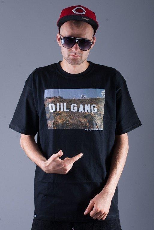 DIIL KOSZULKA HOLLYGANG BLACK
