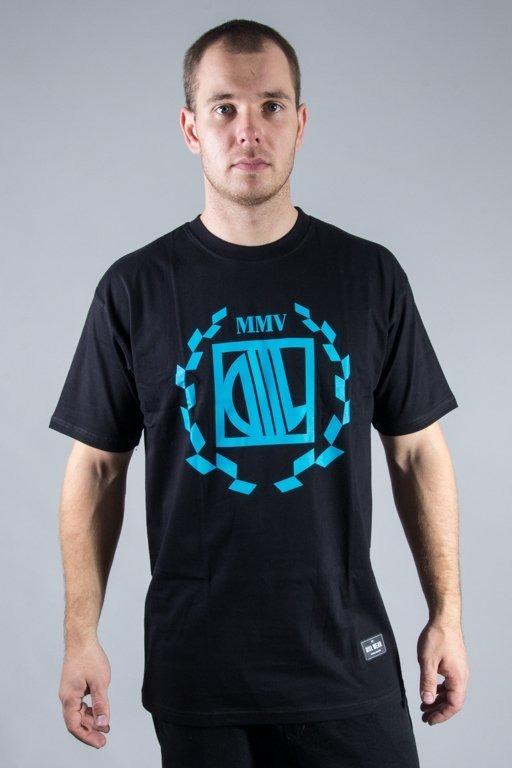 DIIL T-SHIRT LAURENT BLACK-BLUE