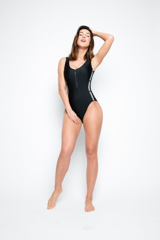 Diamante Chicks Swimsuit  Black