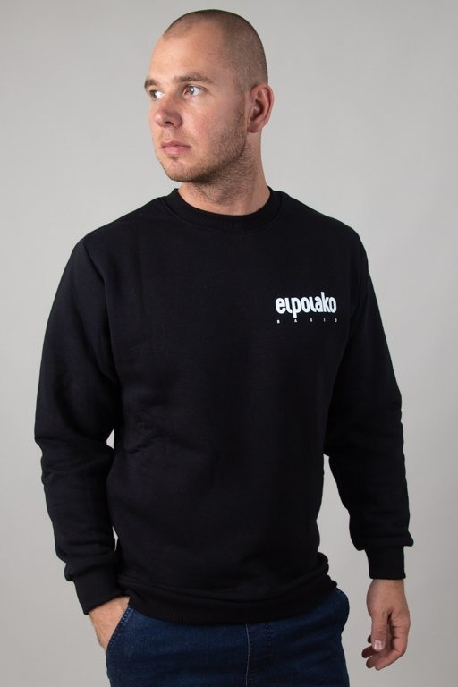 EL POLAKO CREWNECK LITTLE CLASSIC BLACK