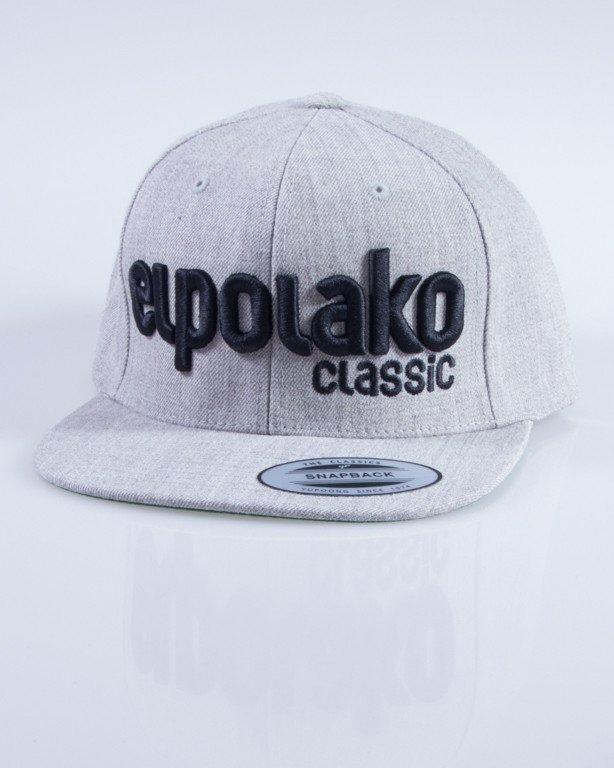 EL POLAKO CZAPKA SNAPBACK CLASSIC MELANGE
