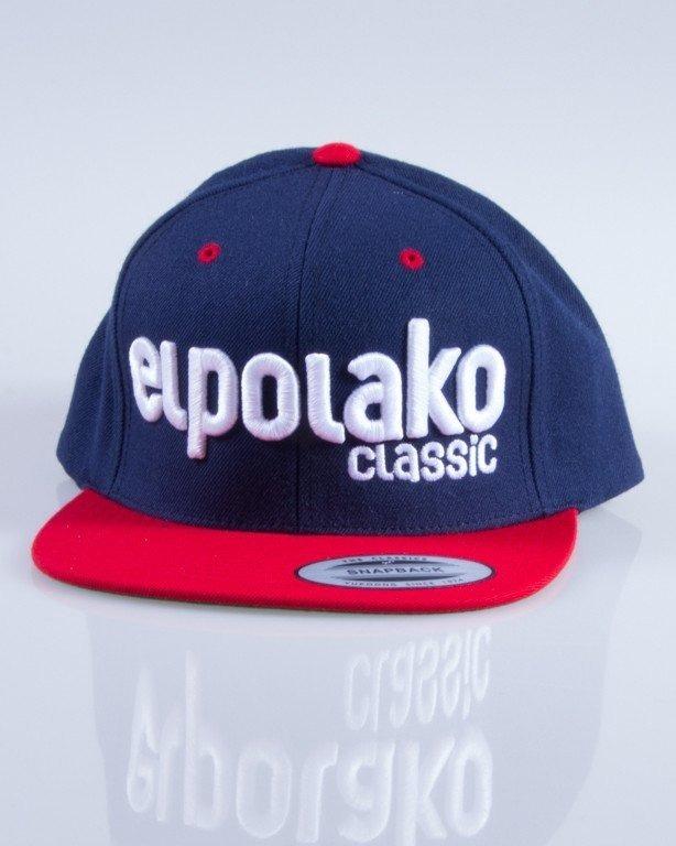 EL POLAKO CZAPKA SNAPBACK CLASSIC NAVY-RED