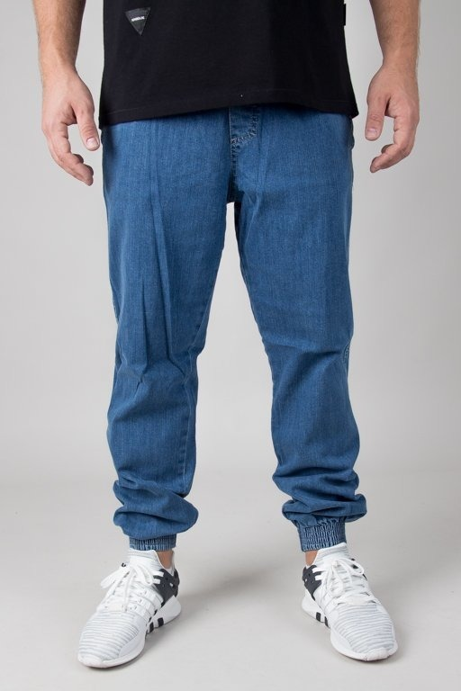 EL POLAKO JEANS JOGGER REGULAR Z GUMĄ BASIC LIGHT
