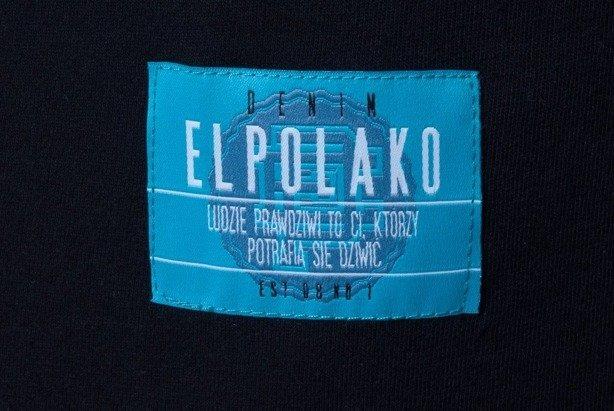 EL POLAKO KOSZULKA GLASS BLACK