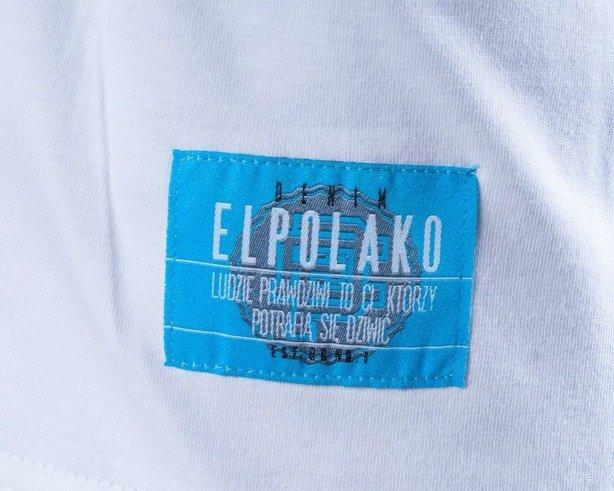 EL POLAKO KOSZULKA KEEP CALM WHITE