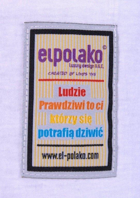 EL POLAKO KOSZULKA OWL WHITE