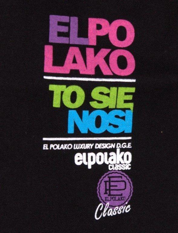 EL POLAKO KOSZULKA PEBBLES BLACK