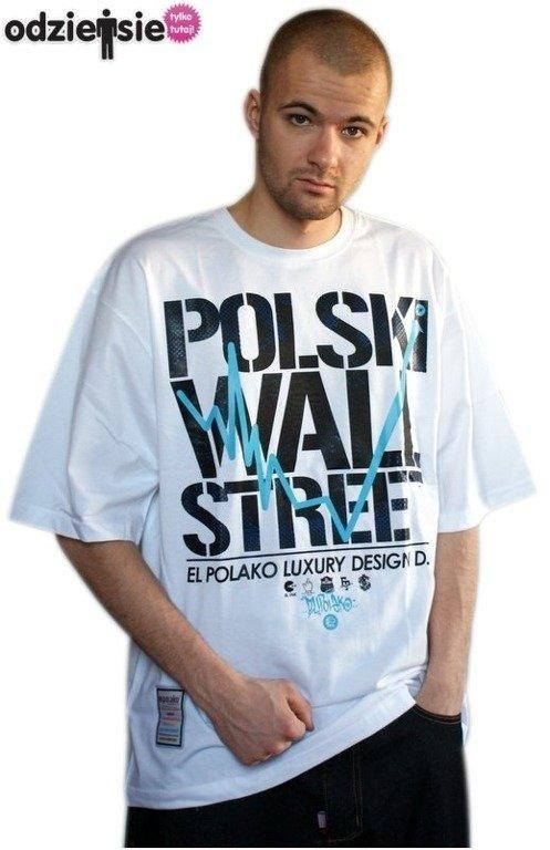 EL POLAKO KOSZULKA POLSKI WALL STREET WHITE