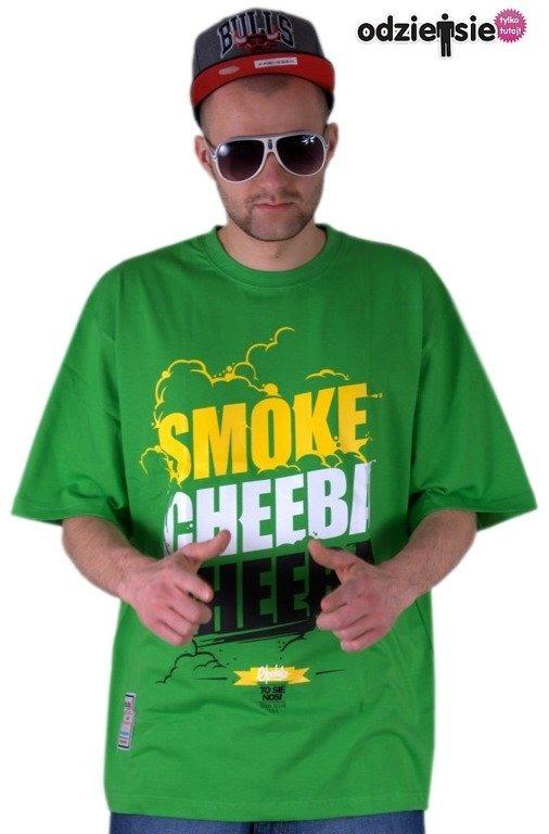 EL POLAKO KOSZULKA SMOKE CHEEBA CHEEBA GREEN