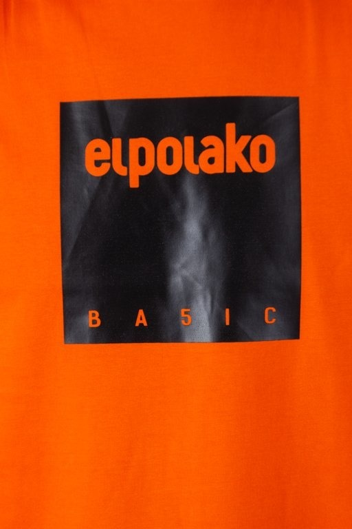 EL POLAKO T-SHIRT BOX STYLE ORANGE