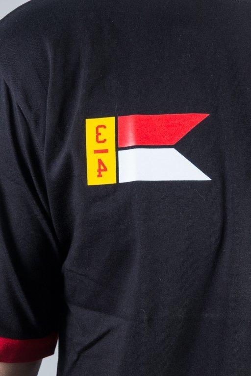 EL POLAKO T-SHIRT FLAG BLACK