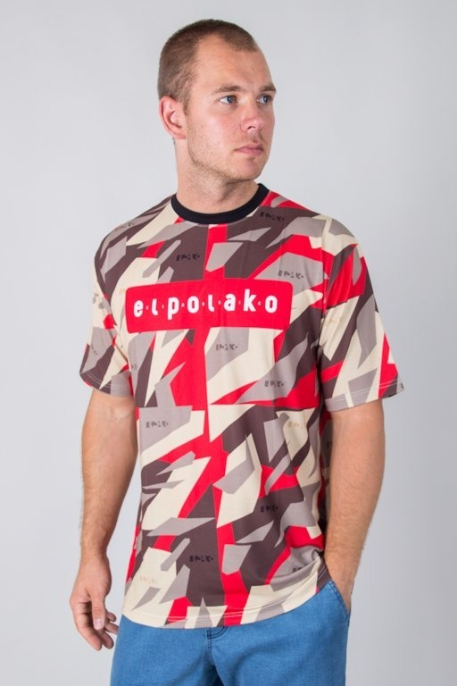 EL POLAKO T-SHIRT PREMIUM RED TRIANGLE MORO