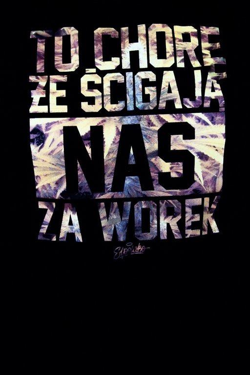 EL POLAKO T-SHIRT WOREK BLACK