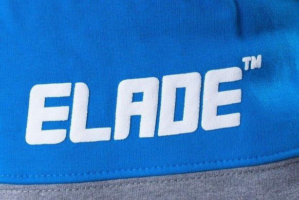 ELADE SPODNIE DRESOWE NAME GREY-BLUE