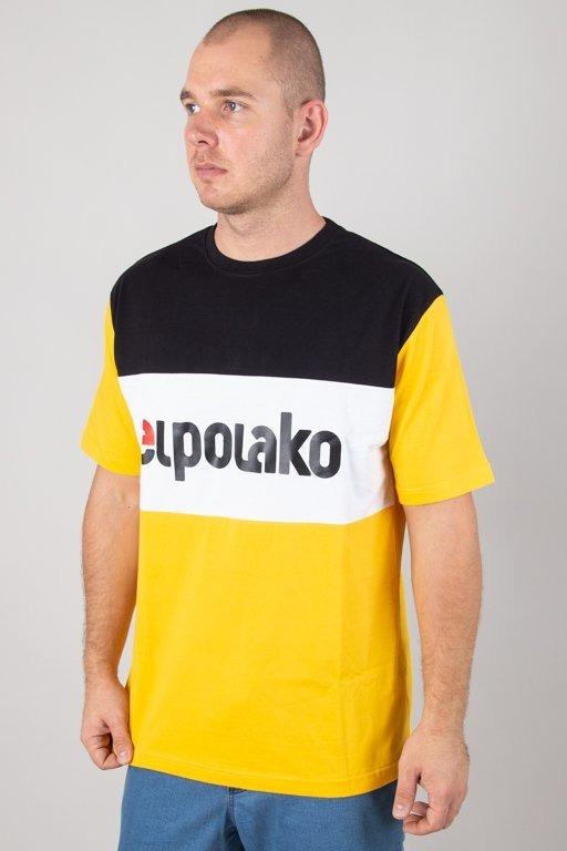 El Polako Koszulka T-shirt Elpo New Yellow