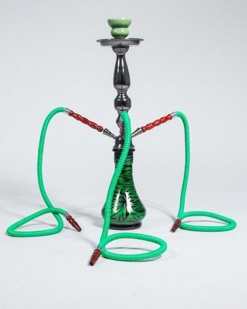 Fajka Shisha Big Zebra Green