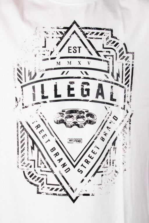 ILLEGAL T-SHIRT LOGO WHITE
