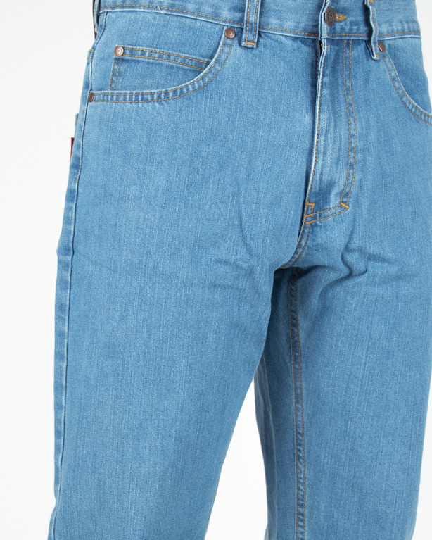 Jeans El Polako Slim Zaciek Light Blue