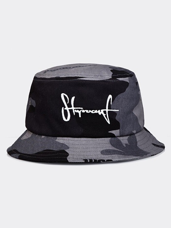 Kapelusz Stoprocent Bucket Hat Camu Grey