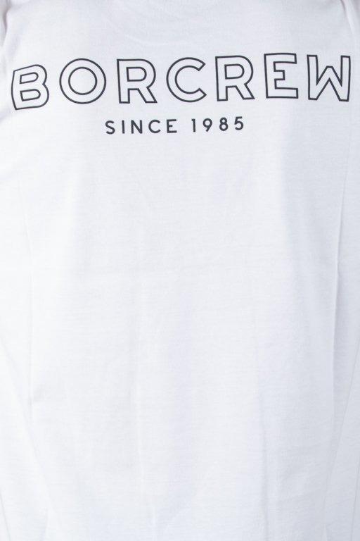 Koszulka Bor Borcrew Outline White