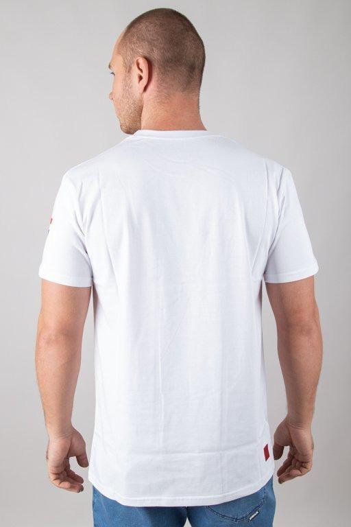Koszulka Bor Flaga White