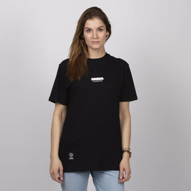 Koszulka Damska Mass Classics Small Logo Black