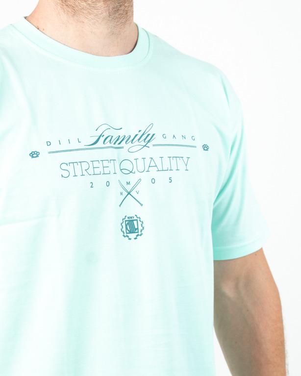 Koszulka Diil Family Mint