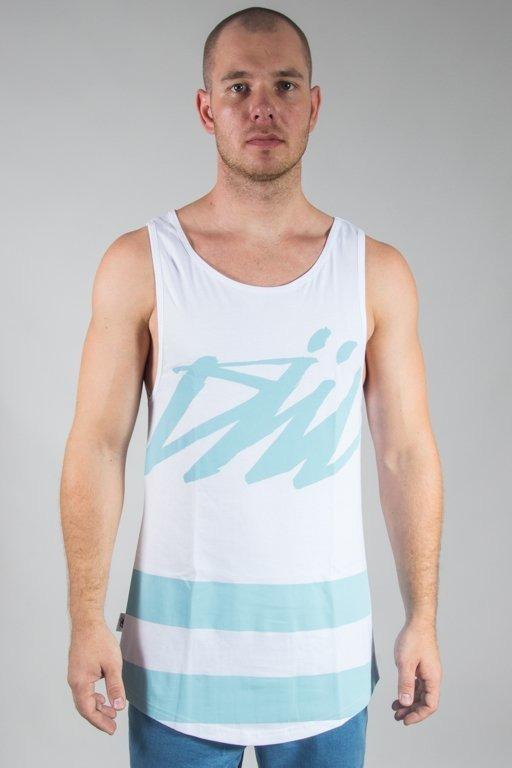 Koszulka Diil Tank Top Tag Master White-Mint