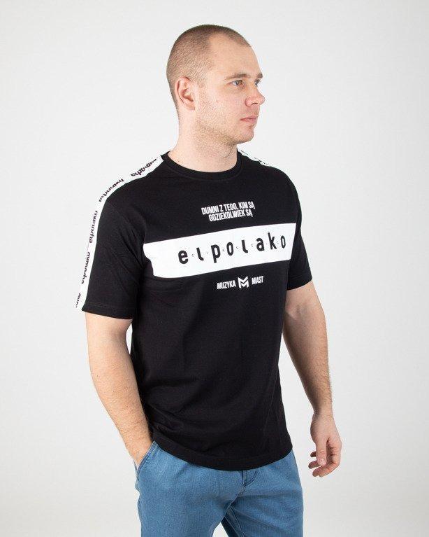 Koszulka El Polako Ep Belt Black