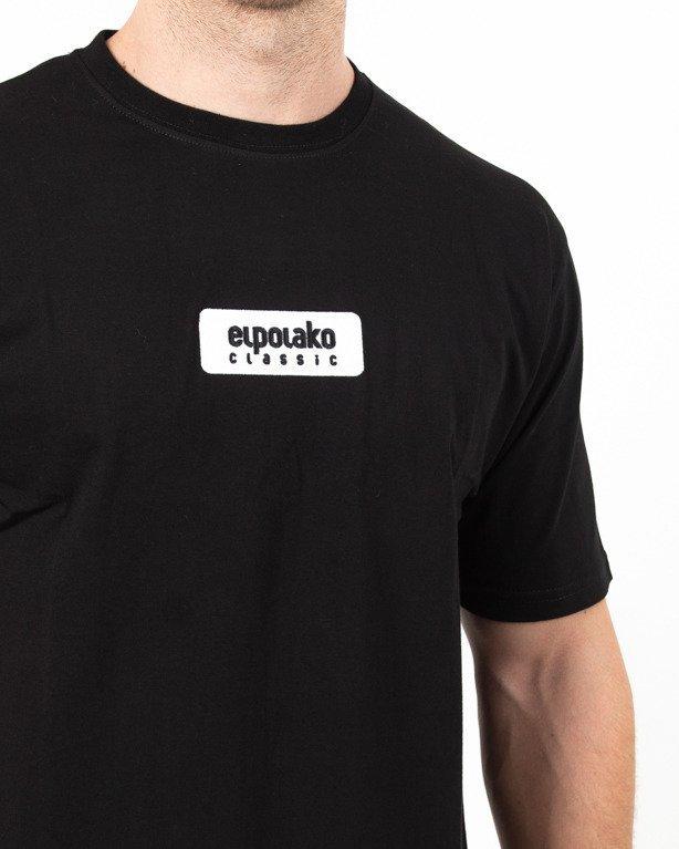 Koszulka El Polako Haft Logo Black