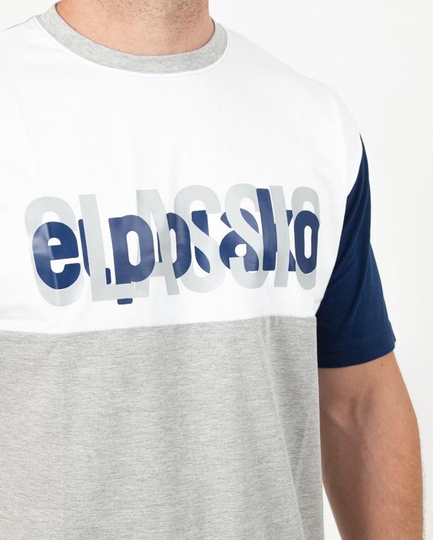 Koszulka El Polako Half Classic Grey-Navy